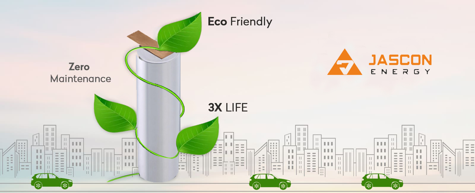 Lithium Battery Manufacturers in India | Jascon Energy